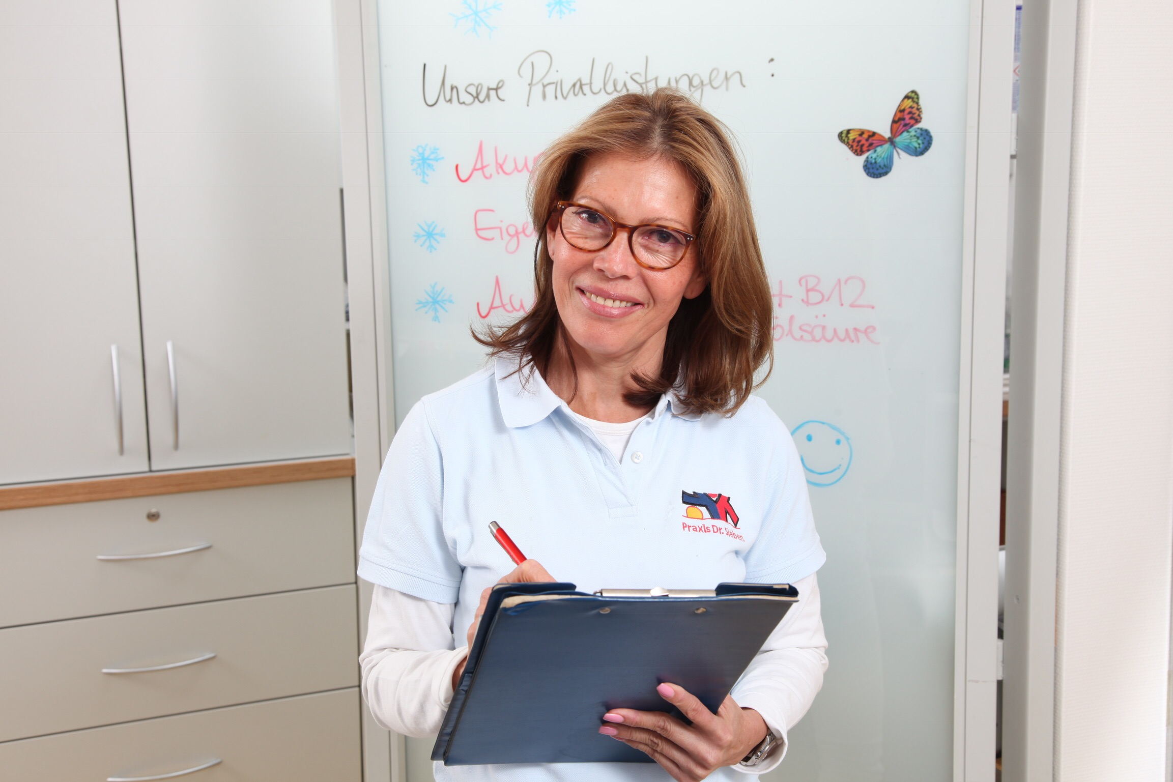 Frau Sieben – medizinische Fachangstellte und Teamleiterin